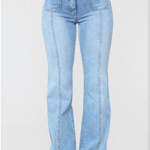 Denim - Brand  new sexy bell bottom jeans!!!